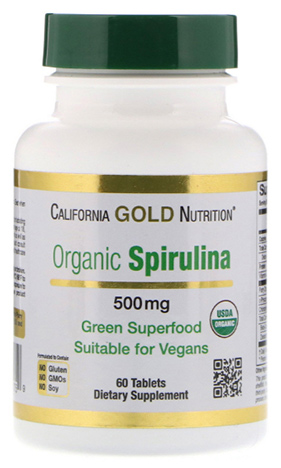 สาหร่ายสไปรูไลน่า, Organic Spirulina