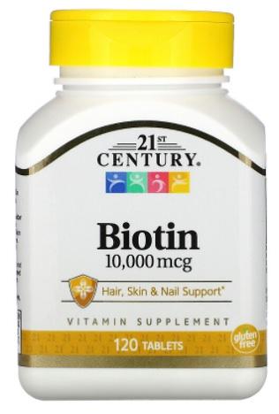 ไบโอติน Biotin 10,000 mcg