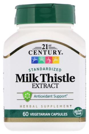 สารสกัดมิลค์ทิสเทิล, Silymarin, Milk Thistle Ext.60Tab