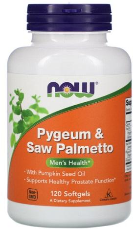 ซอว์ปาล์มเมตโต้&ไพเจียม, Saw Palmetto&Pygeum Extract