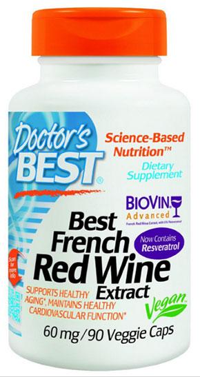 ไวน์แดงฝรั่งเศสสกัด, Best French Red Wine Extract
