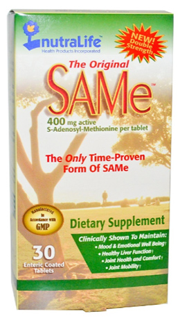 SAM-e (S-Adenosyl-L-Methionine) 400mg