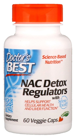 NAC ซีสเทอีน, NAC Detox Regulators