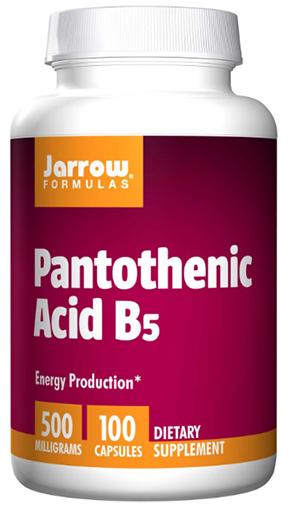 วิตามินบี5, Pantothenic Acid