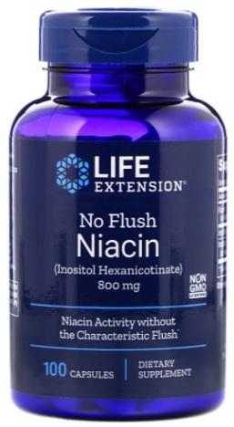 วิตามินบี3, Vitamin B3 No Flush Niacin