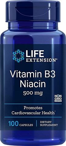 วิตามินบี3, Niacin (vitamin B3)