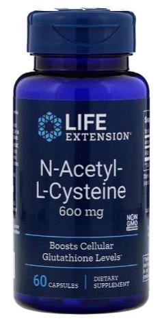 NAC ซีสเทอีน, N-acetyl-L-cysteine