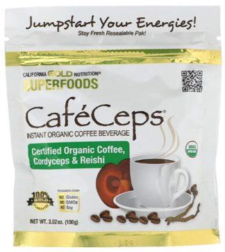 CafeCeps กาแฟเห็ดถั่งเฉ้าและเห็ดหลินจือ