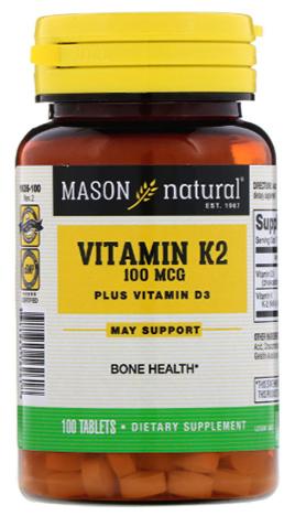 วิตามินเค2, Vitamin K2 Plus D3
