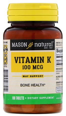 วิตามินเค, Vitamin K