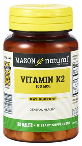 วิตามินเค2, Mason Vitamin K2