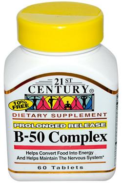 วิตามินบีรวม, Vitamin B-50 Complex