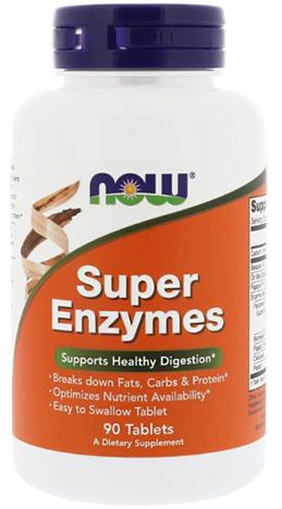 ซุปเปอร์เอนไซม์, Super Enzymes Tab.
