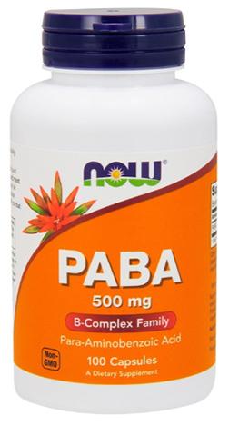 วิตามินพาบา, Now Foods PABA