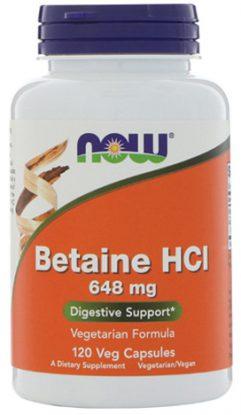 บีเทน ไฮโดรคลอไรด์, Betaine HCL