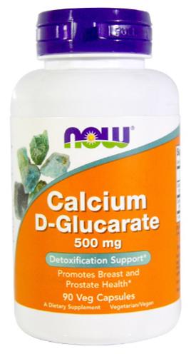 แคลเซียม ดี-กลูคาเรท, Calcium D-Glucarate
