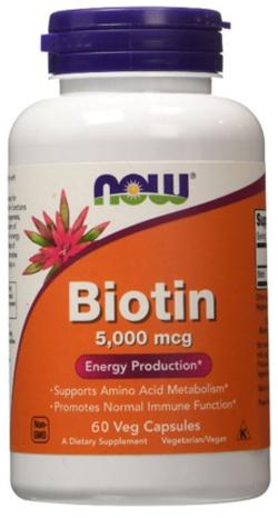 ไบโอติน, Biotin 5000mcg