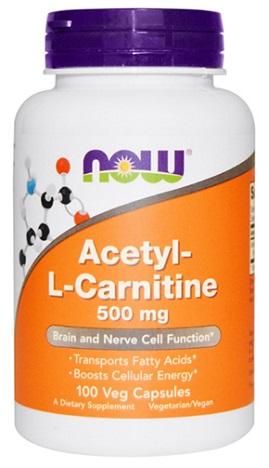 อะเซทิล แอล-คาร์นิทีน, Now Acetyl L- Carnitine | ALC