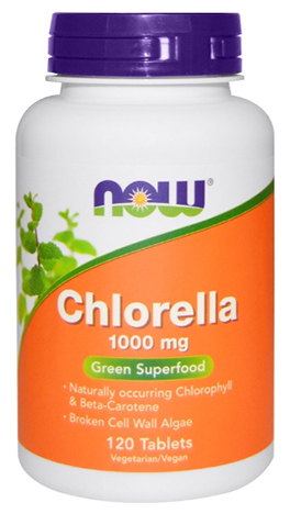 สาหร่ายคลอเรลลา, Chlorella (broken cell wall)