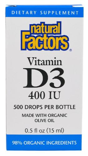 วิตามินดี3, Vitamin D3 Drops