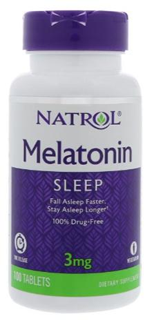 เมลาโทนิน, Melatonin 3mgTR