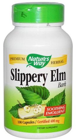 เปลือกไม้สลิปเปอรี่ เอล์ม, Slippery Elm Bark