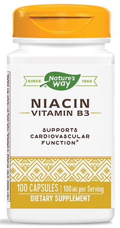 วิตามินบี3, Niacin 100 mg