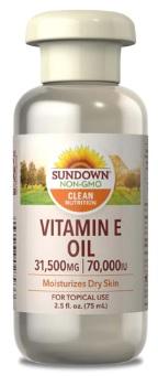 น้ำมันวิตามินอี, Vitamin E Oil