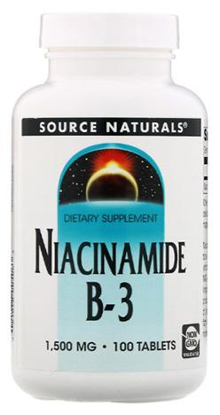 วิตามินบี3, Niacinamide