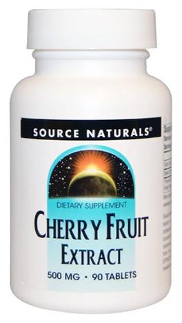 สารสกัดเชอรี่, Cherry Fruit Extract