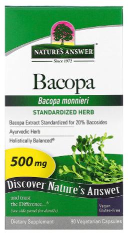 สารสกัดพรมมิ Bacopa