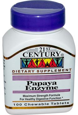 เอนไซม์มะละกอ, Papaya Enzyme