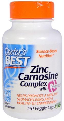 แอล-คาร์โนซีน, PepZin Gl, L-Carnosine