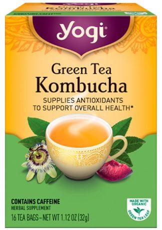ชาเขียวคอมบูชะ, Green Tea Kombucha