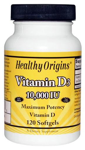 วิตามินดี3, Vitamin D3, 10000 IU