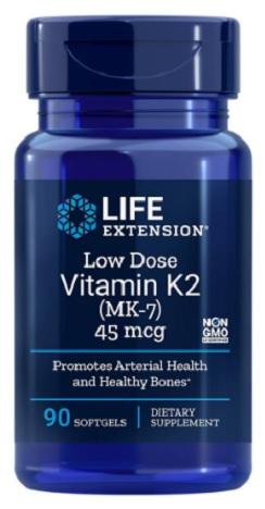 วิตามินเค2, Vitamin K2 as MK-7 45 mcg