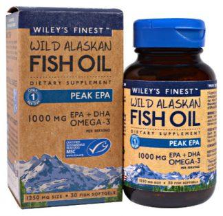 น้ำมันปลา Wild Alaskan Fish Oil
