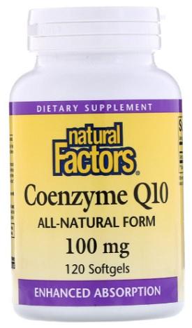 โคเอนไซม์คิวเท็น, Natural Factors, CoQ10
