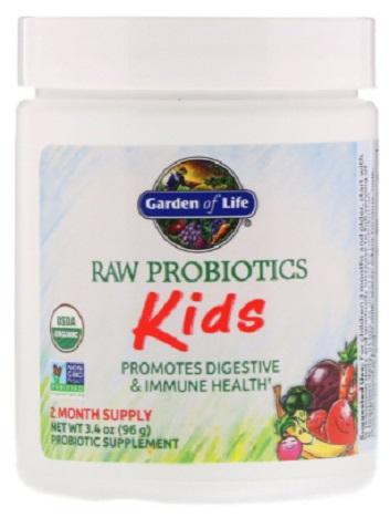 โปรไบโอติกส์สำหรับเด็กเล็ก, RAW Probiotics Kids