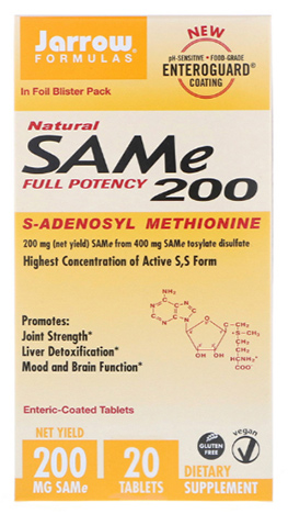 SAM-e (S-Adenosyl-L-Methionine) 200mg