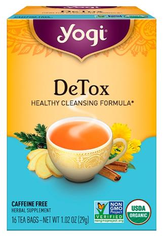 ชาสมุนไพร, Yogi Tea Detox