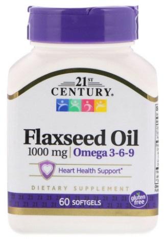 น้ำมันเมล็ดเเฟลกซ์ซีด, Flaxseed Oil Omega 3-6-9