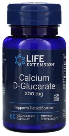 แคลเซียม ดี-กลูคาเรท, Calcium D-Glucarate 200mg