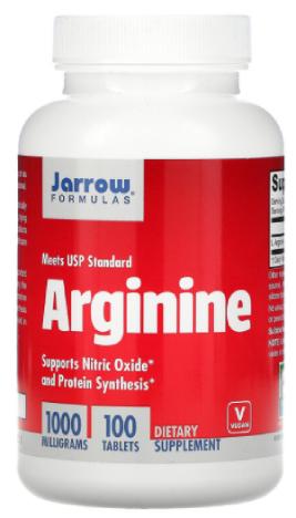 แอล-อาร์จินีน Jarrow L-Arginine 1000 mg