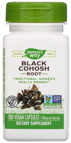 แบลคโคฮอส Nature's Way Black Cohosh Root